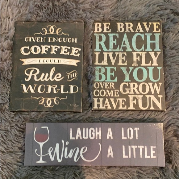 Other - 3 signs, great small gifts!